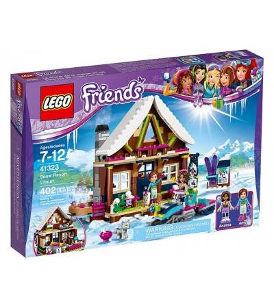 LEGO Friends Chalet im Wintersportort (41323)