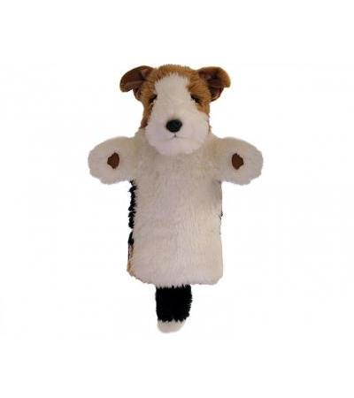 The Puppet Company Long-Sleeved Handpuppe Fox Terrier (38cm)