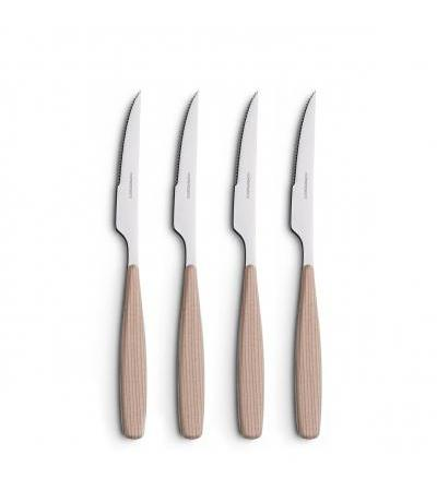 SET 24PZ COLTELLI BISTECCA FRASSINO