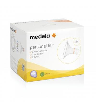 Medela- Personalfit Breastshield Size L(27M) (Pack of 2)