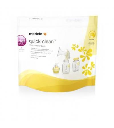 Medela- Quick Clean Microwave Sterlization Bags