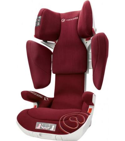 CONCORD Kindersitz Transformer XT Bordeaux red (tfm0980tf)